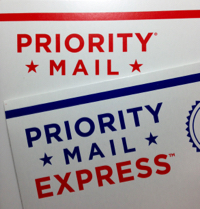 Priority & Express Mail Logos