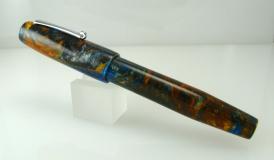 Balladeer #1 in Mineral Sea Lava Explosion alumilite - - 1
