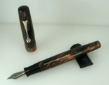 Scrivener in Black and Tan alumilite - 3