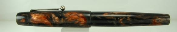 Scrivener in Black and Tan alumilite - 7