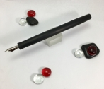 Epic Dip Pen in Matte Black Finish Ebonite - Slim