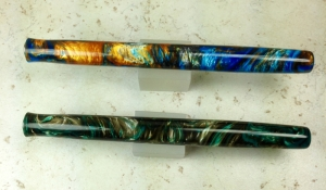 Epic Dip Nib Holders in Mineral Sea & Green Teal Mist