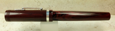 Custom in Red Ripple Ebonite