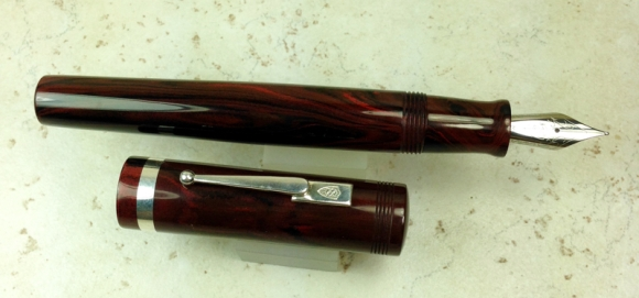 Custom in Red Ripple Ebonite