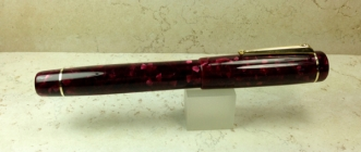 Baskerville in Quartz Burgundy - Large
