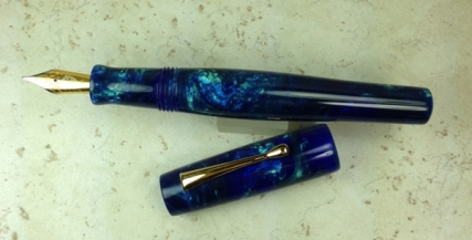 Scribe in Lava Explosion #53 - Starry Nights - Oversized
