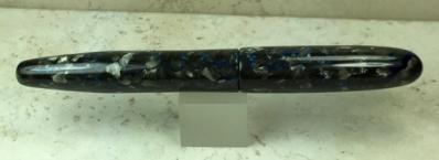 Custom in Tibaldi Impero Celluloid & Black Japanese Ebonite