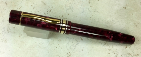 Custom Montblanc 139 Style in Quartz Burgundy - Medium