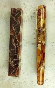 Idyll in Amber Water Acrylic - Medium