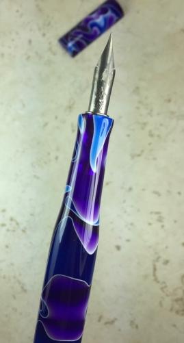 Literati Academe Dip Pen in Freezing Water Acrylic