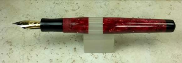 Master Scrivener in Red Stardust - Small