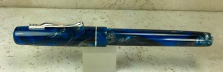 Custom Inkling in Falcon Lava Lamp, slightly recessed nib - Small