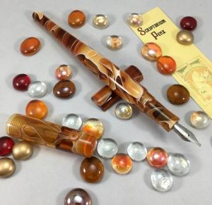 Literati Academe in Amber Water Acrylic - Oversized