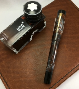 Chronicler in Copper Ore & Black Ebonite - Large