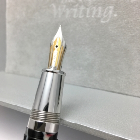 Omas Paragon Wild Celluloid with 18k Medium Nib, tuned by John Mottishaw