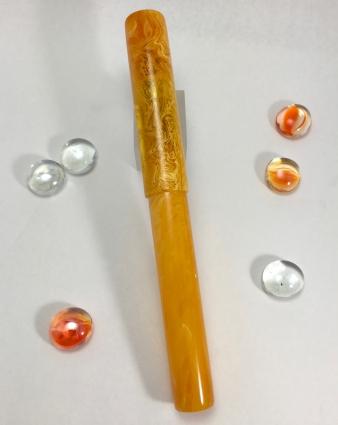 Aeterna in Yellow Amber Acrylic - Medium