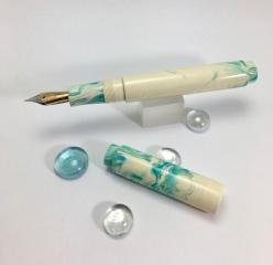 Scroll in Ice Koi - Medium