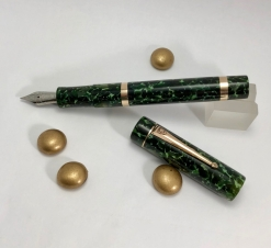 Custom in Classic Green with Bronze Trim - Medium