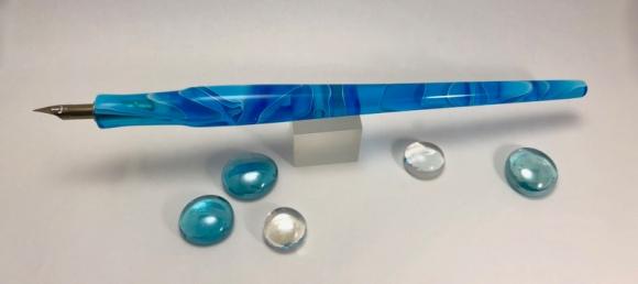 Literati Academe Dip Pen in Topaz Water Acrylci