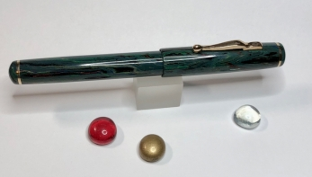 Inkling in SEM LE Deep Sea Ebonite with Bronze Furnishings - Medium