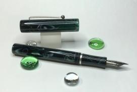 Aeterna in Verdigris Green Cellulose Acetate - Medium