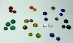 Just a few of the many gemstones available for your Illuminaire!