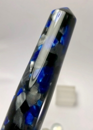 Idyll in Impero Blue - Oversized