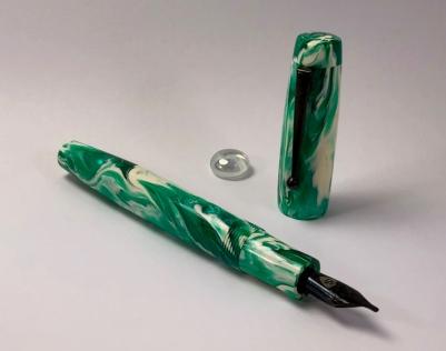 Balladeer in Emerald Koi - Large