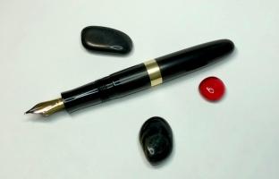 Custom in African Blackwood & Ebonite - Large