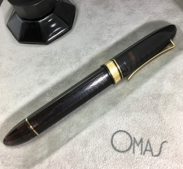 Omas 360 Vintage LE Smoke Gold Trim