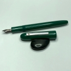 custom in Nikko Deep Green Ebonite - Small