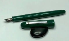 custom in Nikko Deep Green Ebonite - Small