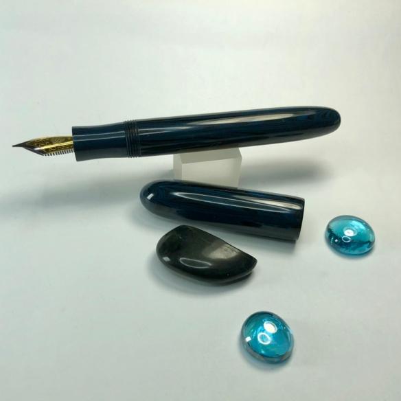 Sonneteer in SEM Special Edition Denim Blue Ebonite - Large