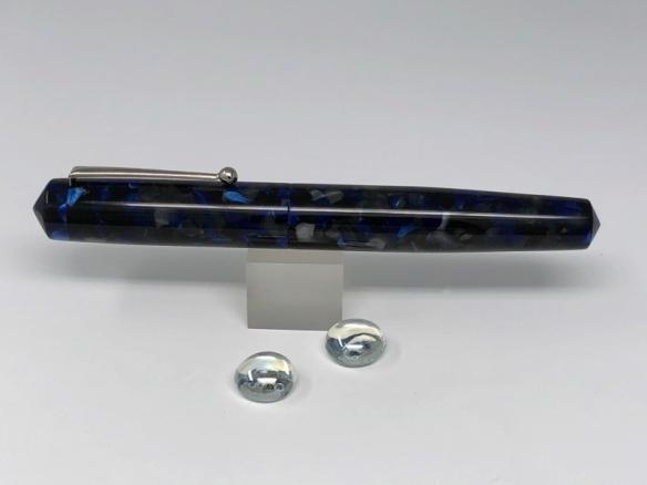 Idyll in Blue Impero Acrylic - Large