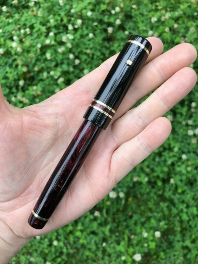 800-baskerville-dupras-midnight-flame-black-ebonite-medium - 1